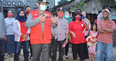 Herwin Kunjungi Warga Terdampak Banjir Desa Bantayan