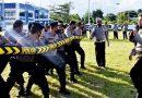 Polres Banggai Mantapkan Latihan Dalmas