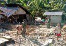 Kodim 1308 Bedah Rumah Korban Banjir Dondo