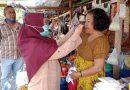 Cegah Penularan Covid-19, ANTI MURAD Bagikan Masker ke Pedagang